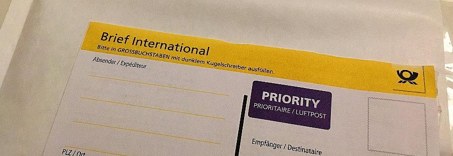 Ratgeber Internationale Warensendung Und Warenpost