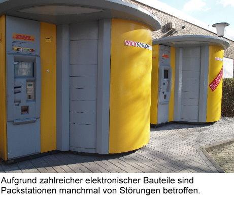 Packstation Gesperrt