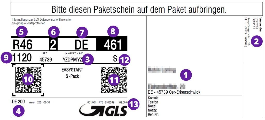ups rechnung barcode in eine rechnung einf gen youtube. Black Bedroom Furniture Sets. Home Design Ideas