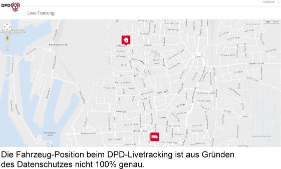 DPD Livetracking