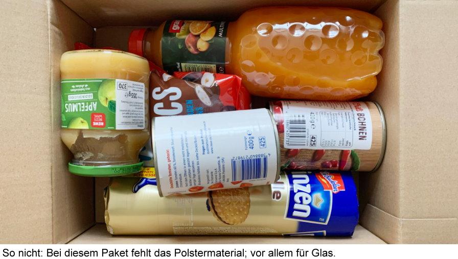 So Funktionieren Versand Und Lieferung Von Lebensmitteln