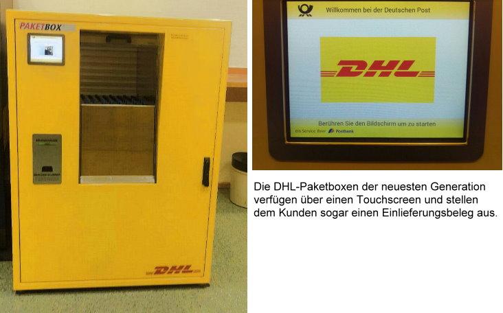 Neue Generation der DHL Paketbox