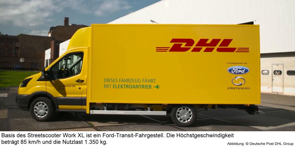 elektro paketauto von dhl und ford 150 fahren bald. Black Bedroom Furniture Sets. Home Design Ideas