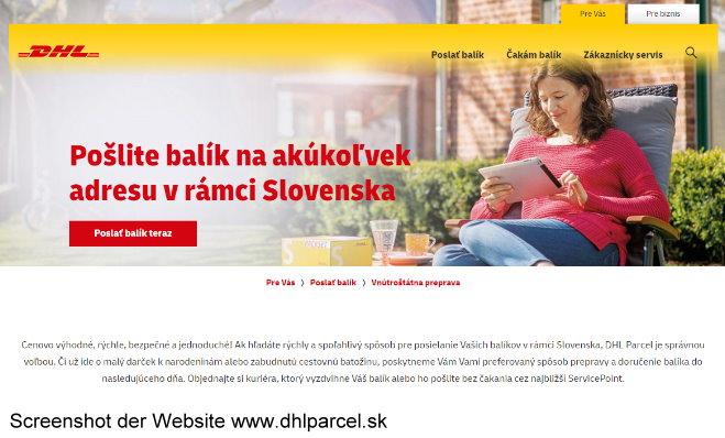Dhl Slowakei
