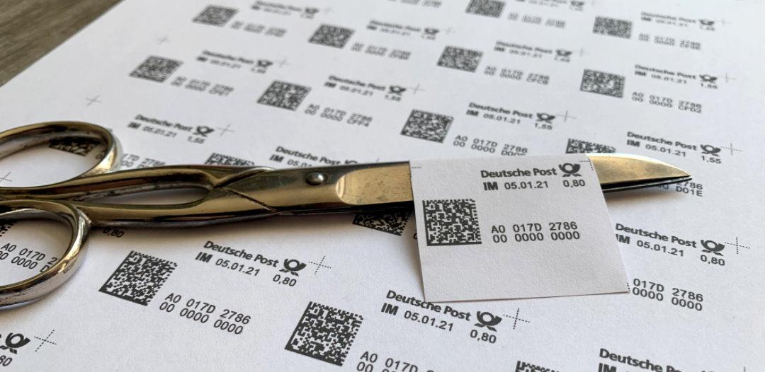 Briefmarken Kaufen Mit Der Internetmarke Der Deutschen Post