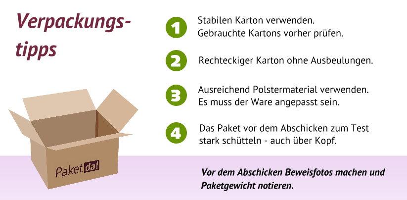 Verpackungstipps Für Pakete