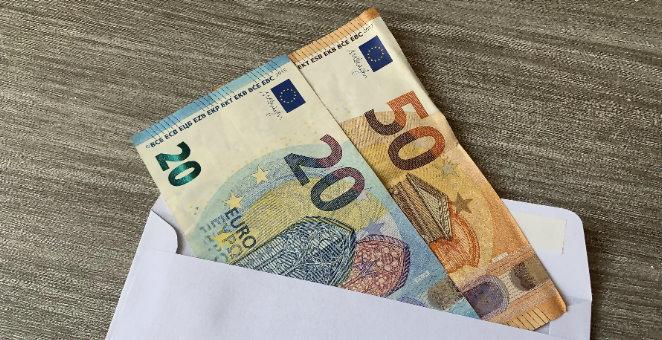 geld mit post verschicken